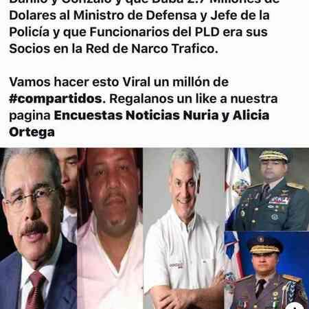 ¿quienes son los verdaderos cómplices de cesar el abusador, Danilo , Gonzalo y los militares