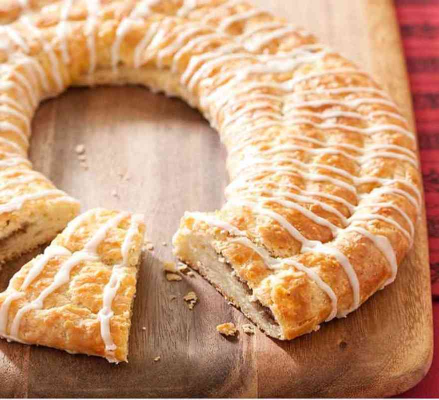 What is the dough part of kringle?