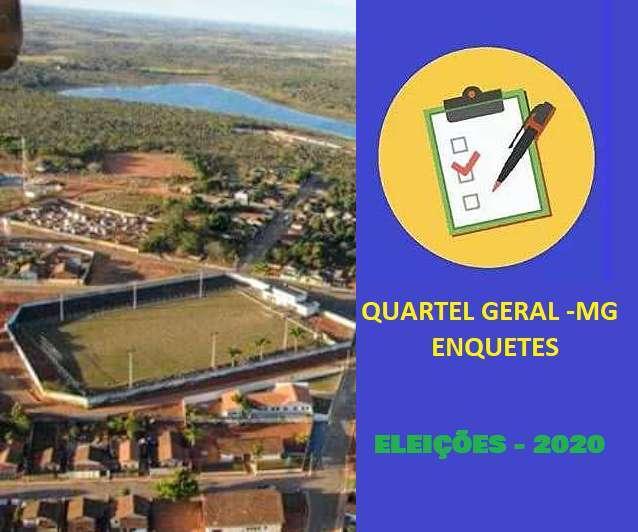 ELEIÇÕES 2020 - PREFEITO - QUARTEL GERAL/MG