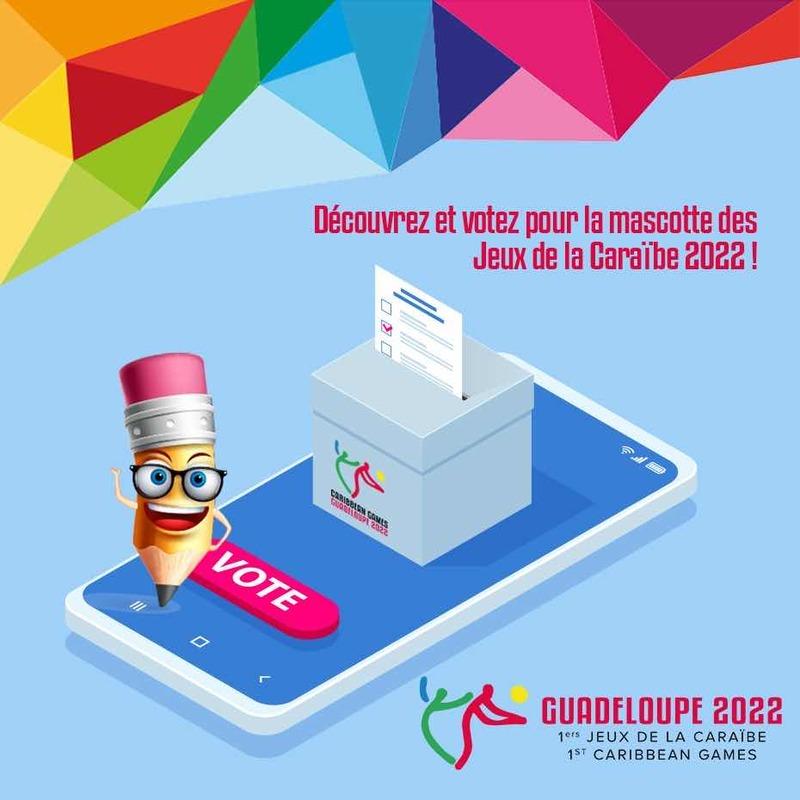 Élisez la mascotte officielle des Jeux de la Caraïbe 2022
